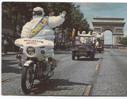 Tour De France - Michelin - L'arrivée Du Bibendum Michelin Sur Les Champs Elysées - Ed. Draeger - Moto  Jeep - Sonstige