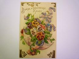 2019 - 2272  Thème  PARAPLUIE :  Jolie Carte Fantaisie Gaufrée  1907   XXX - Engel