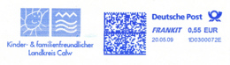Freistempel 6224 Sonne Wasser Calw - Marcofilie - EMA (Printmachine)
