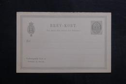 DANEMARK - Entier Postal  Non Circulé - L 40250 - Interi Postali