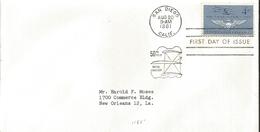 J) 1961 UNITED STATES, MASONIC GRAND LODGE, 50th YEARS OF NAVAL AVIATION, FDC - United States