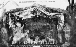 SAINT-GERMAINMONT LA CRECHE EN 1926 - Autres Communes