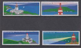 Azores 1996 Lighthouses 4v ** Mnh (44325) - Azores