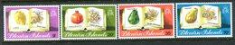 Pitcairn Islands 1982 Fruit Set LHM (SG 222-225) - Stamps