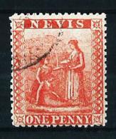Nevis (Británico) Nº 12 Usado Cat.25€ - St.Christopher-Nevis-Anguilla (...-1980)