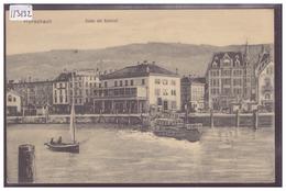 RORSCHACH - HAFEN MIT BAHNHOF - TB - SG St. Gall