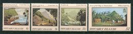 Pitcairn Islands 1985 19th Century Paintings - 1st Issue - Set LHM (SG 264-267) - Stamps