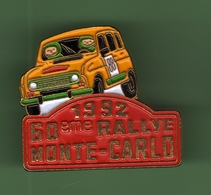 RENAULT 4L *** RALLYE MONTE-CARLO 1992 *** 1040 (35) - Automobile - F1