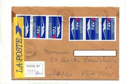 Lettre Recommandée Paris 51 Sur Tgv + ? Annexe A - Postmark Collection (Covers)