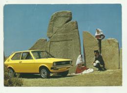 AUDI 50 IN SARDEGNA, CARTOLINA PUBBLICITA' VENDITA AUTO OSMANNORO FIRENZE - NV FG - Postkaarten