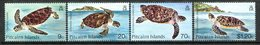 Pitcairn Islands 1986 Turtles Set MNH (SG 281-284) - Stamps