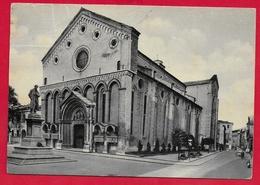 CARTOLINA VG ITALIA - VICENZA - Chiesa Di S. Lorenzo - 10 X 15 - 1956 - Vicenza