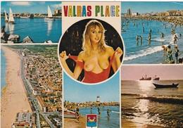 34. VALRAS  SEINS NUS SUR MULTI VUES A VALRAS PLAGE - Nus Adultes (< 1960)