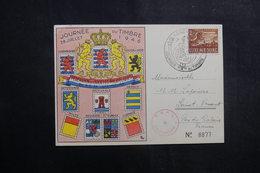 LUXEMBOURG - Carte De La Journée Du Timbre De 1946 Pour La France - L 40265 - Luxemburg