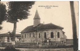 CPSM -  51 - Marne - Reims La Brulée - église - 1936 - France