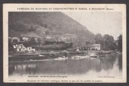 100311/ BESANCON, Bords Du Doubs à Mazagran - Besancon