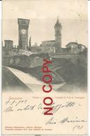 Bazzano, Bologna, Vignola 19.9.1902, Chiesa E Castello, Castelli Di Val Di Samoggia, A Beneficio Dell'Asilo Infantile. - Bologna