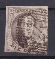 N° 6  Touché  DISTRIBUTION 24 - 1851-1857 Médaillons (6/8)