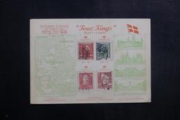 """DANEMARK - Carte Postale """" Four Kings """" Pour La France En 1959 - L 40273 - Cartas"""