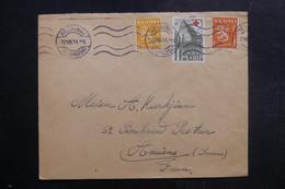 FINLANDE - Enveloppe De Helsinki Pour La France En 1931, Affranchissement Plaisant - L 40280 - Finlande
