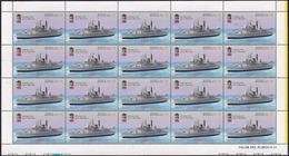 "Argentina - 1996 - 100 Ans De La Base Navale De Puerto Belgrano. Destroyer ""Hercules"". - Argentina"