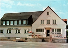 !  Moderne Ansichtskarte Niederelsungen, Wolfhagen, Hotel Röhl, 1981, PKW, Auto Opel - Wolfhagen