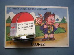 CARTE SYSTEME PHOTOS - MOREZ - AUTO-STOP - Morez