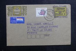 AFRIQUE DU SUD - Entier Postal + Complément De Springbok Pour La France En 1993 - L 40285 - África Del Sur (1961-...)