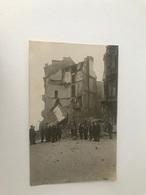 Oostende  FOTOKAART  Vernielingen Eerste Wereldoorlog - Oostende