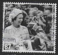 GROSSBRITANNIEN GRANDE BRETAGNE GB 2012 SILVER JUBILEE WALKABOUT 1977 87P SG 3323 MI 3267 YT 3669 SC 3032 - 1952-.... (Elizabeth II)