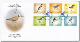 Qatar 2009, FDC, Birds - Qatar