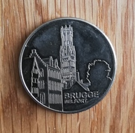 3247 Vz Brugge Belfort - Kz Belgian Heritage Collectors Coin - België
