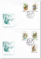 Wit Rusland 1998, FDC, Birds - Wit-Rusland