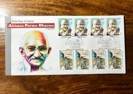 Gandhi India Fdc - Mahatma Gandhi
