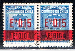 CHILI 320 // YVERT 366X2 // 1971 - Chile