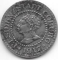 *notgeld  Coburg 10   Pfennig   1917 Fe  2532.4 / F 81.5d - [ 2] 1871-1918 : German Empire