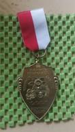 Medaille :Netherlands  - Bloemen Bad Plaats - Noordwijk Aan Zee.  / Vintage Medal - Walking Association - Pays-Bas