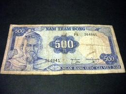 VIET- NAM DU SUD 500 Dong 1966, Pick N°23, SOUTH VIET NAM - Vietnam