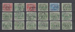 Holland Yvert 357A/364 Used - Period 1891-1948 (Wilhelmina)