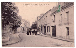 5333 - Vertou ( 44 ) - La Rue De Nantes - N°21 - Coll. F. Chapeau à Nantes - - Frankrijk