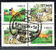 CHILI 330 // GRANS DANES ET DALMATAS // 1998 - Chile