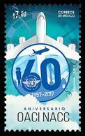 2017 MÉXICO OACI La Organización De Aviación Civil Internacional MNH ICAO The International Civil Aviation Organization - Messico