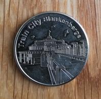 3252 Vz Train City Blankenberge - Kz Belgian Heritage Collectors Coin - Belgique