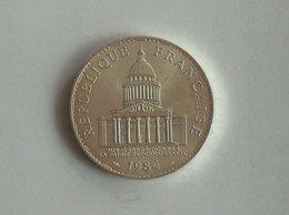 FRANCE 100 Francs 1984 - Silver, Argent - N. 100 Francs