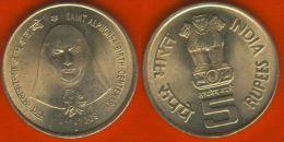 "India 5 Rupees 2009 Km#365 ""St. Alphonsa"" - India"