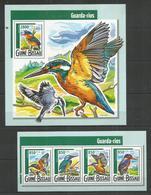 GUINEA - BISSAU - MNH - 2015 - Animals - Birds - Birds