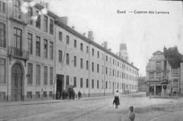 Gand - Caserne Des Lanciers (animation, 1920) - Gent