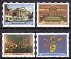 SOUTH AFRICA - 1985 CAPE PARLIAMENT SET (4V) FINE MOUNTED MINT MM * SG 582-585 - South Africa (1961-...)