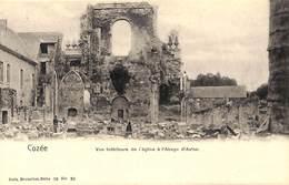 Cozée - Vue Intérieure De L'Eglise à L'Abaye (sic) Abbaye D'Aulne (Nels, Animée) - Belgium