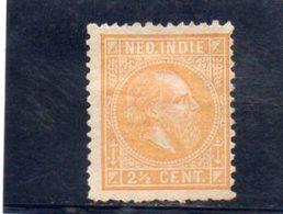INDE 1870-86 SANS GOMME - Nederlands-Indië